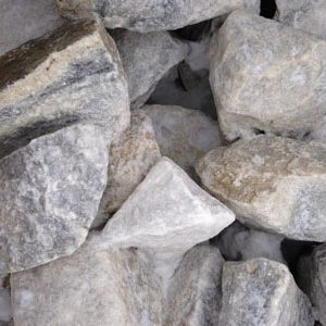 Boulders - White Marble